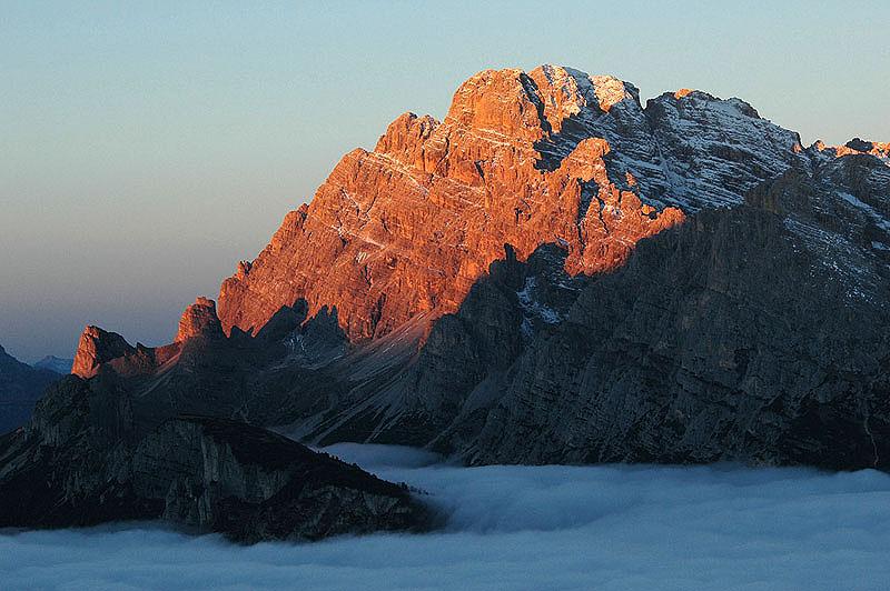 Cristallo: arrive in Cortina Dolomites  from Venice