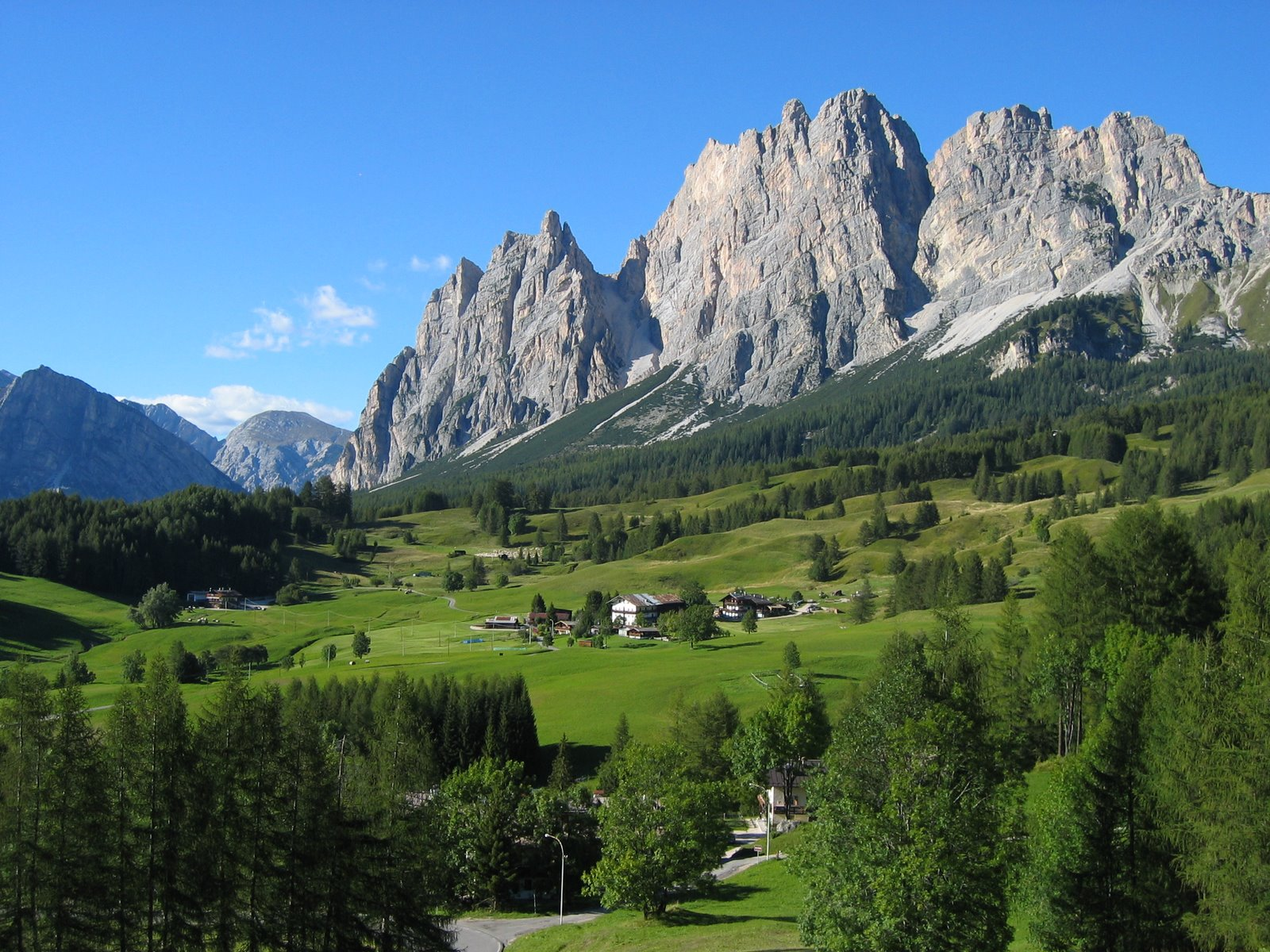 Dolomites and Cortina