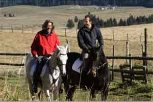 villas and apartments for horse riding vacation in Veneto