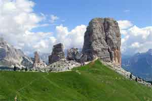 Trekking holiday in Dolomites close to Treviso