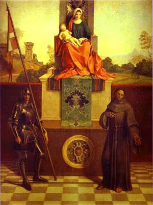 Castelfarnco: is the birthplace of  Venetian painter Giorgione