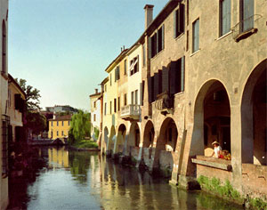 Visit of Treviso, and river Sile