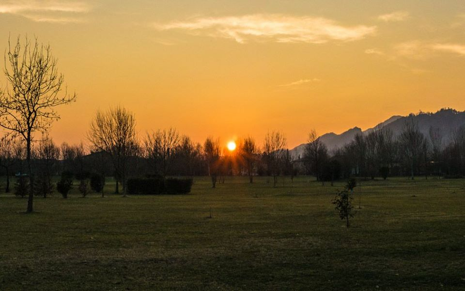 sunset Vittorio veneto