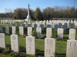English Cemetery in Tezze di Piave