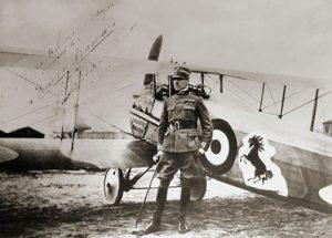 WW1 Piave Battle, Francesco Baracca