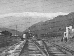 Austrian railway Sacile - Vittorio  Veneto