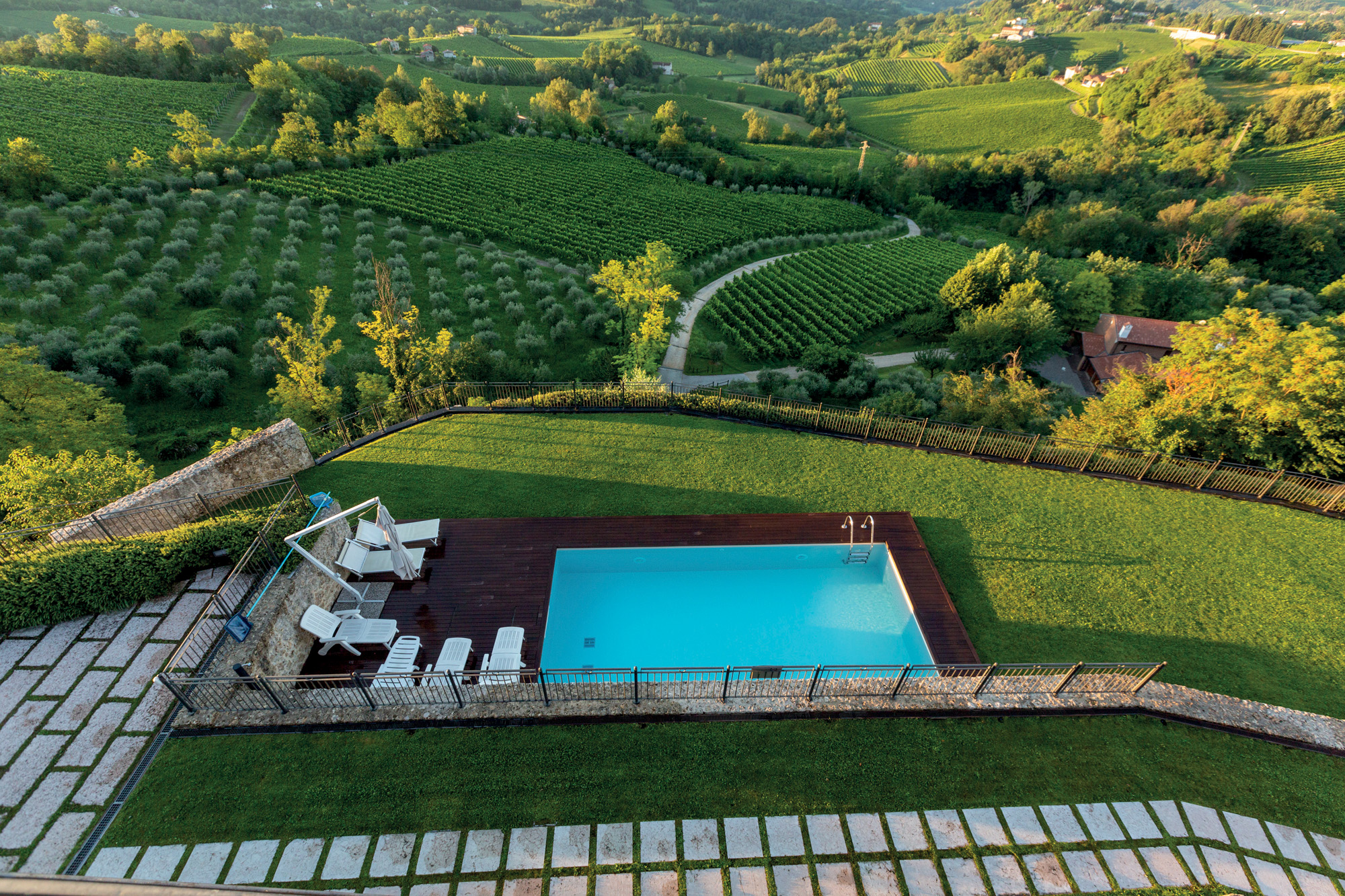 holiday accommodation prosecco hills Unesco Heritage