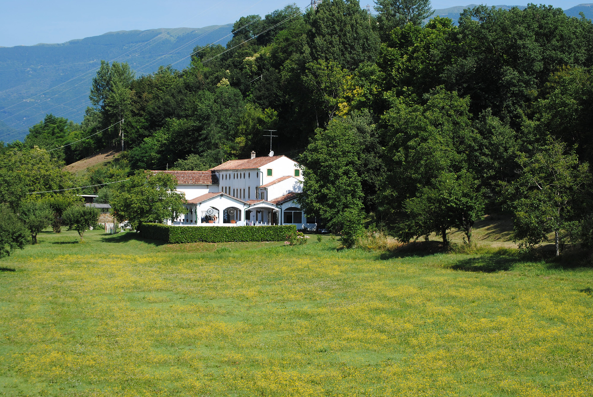 villa with private pool veneto